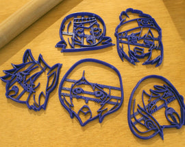 Ahegao Cookie Cutters - Kawaii gift for Anime Lovers - Pokemon Girl, Nami One Piece, ReZero Felix - LootCaveCo