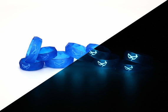 Blue Mage FFXIV Ring Glow in the Dark Soul Crystal/BLM Job Stone Final Fantasy XIV FF14 - LootCaveCo