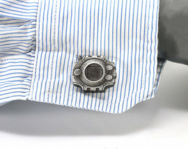 Digimon Digivice Cufflinks- Digimon Adventure, Digidestined Digimon Wedding - LootCaveCo