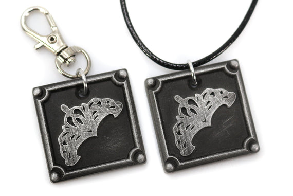 Goldsmith FFXIV Crafting Charm - GSM Metal Resin, Disciple of the Hand Final Fantasy 14 FF14 - LootCaveCo