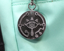 Zelda Sheikah Eye Legend of Zelda Breath of the Wild Necklace - Nintendo/Zelda Gift