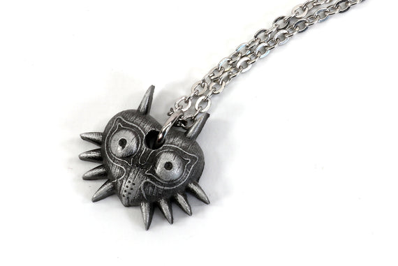 Zelda Charm Necklace Majoras Mask -Metal Resin- Legend of Zelda Breath of the Wild  - Nintendo/Zelda Gift