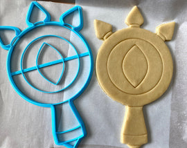 12 Inch Lens of Truth Cookie Cutter -  Zelda Cookie Cake  - Breathe of the Wild Cookie Cutter /  Nintendo Gift