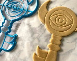 12 Inch Boss Key Cookie Cutter -  Zelda Cookie Cake  - Breathe of the Wild Cookie Cutter /  Nintendo Gift