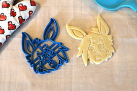 League Emote Cookie Cutters -Riven, Teemo, Jinx, Lux Ashe- League of Legends - LootCaveCo