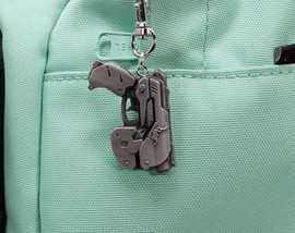 Overwatch Dva Gun Aluminum Overwatch Keychain/Necklace for Overwatch Gift - LootCaveCo