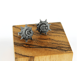Overwatch Earrings Junkrat RipTire -Stainless Steel Stud- Overwatch Earrings for Overwatch Gift - LootCaveCo