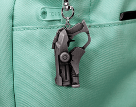 Overwatch Mercy Gun Aluminum Overwatch Keychain/Necklace for Overwatch Gift - LootCaveCo