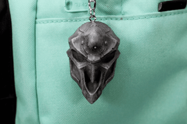 Overwatch Reaper Mask Aluminum Overwatch Keychain/Necklace for Overwatch Gift - LootCaveCo