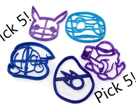 Pick any 5 Cookie Cutter Set! - LootCaveCo