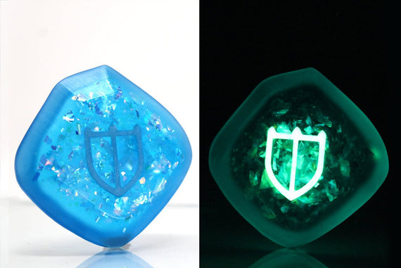 Twinkle Paladin FFXIV Glow in the Dark Soul Crystal/PAL Job Stone Final Fantasy XIV FF14 - LootCaveCo