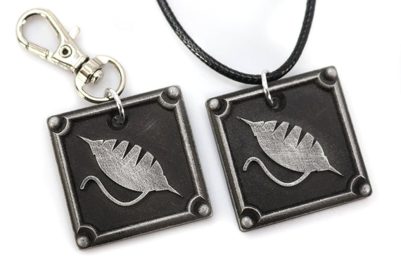 Weaver FFXIV Crafting Charm - WVR Metal Resin, Disciple of the Hand Final Fantasy 14 FF14 - LootCaveCo