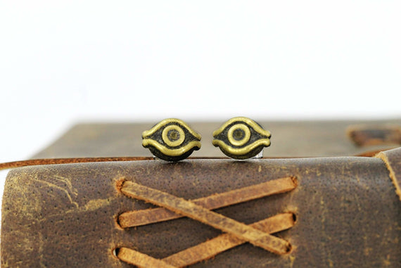 Yugioh Millenium Eye Earrings - Yu Gi Oh Cosplay or Gift - Maximillion Pegasus - LootCaveCo