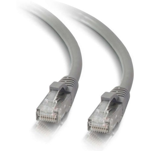 C2G 200 ft Cat5e Snagless UTP Unshielded Network Patch Cable - Gray 19145