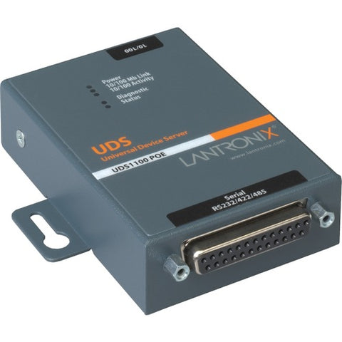 Lantronix UDS1100 Device Server with PoE UD11000P0-01