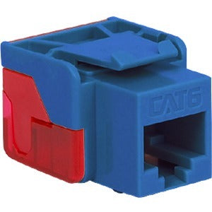 ICC Cat 6, EZ Modular Connector, Blue IC1078L6BL