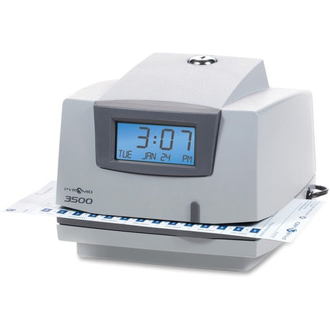 Pyramid 3500 Time Clock & Document Stamp 3500