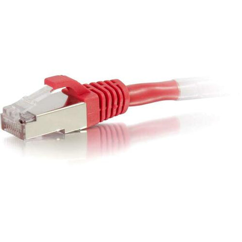 C2G 20ft Cat6 Snagless Shielded (STP) Network Patch Cable - Red 00855