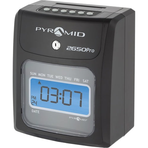 Pyramid 2650 6-Column Time Clock 2650