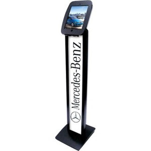Compulocks iPad BrandMe Stand with Space Enclosure Black 140B224SENB