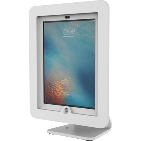 Compulocks iPad Enclosure Kiosk - Rotates 360' and Swivels - WHITE - Fits iPad 1/2/3/4/AIR AIO-W