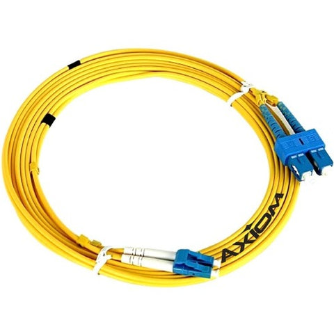 Axiom Fiber Optic Duplex Network Cable SCSTSD9Y-4M-AX
