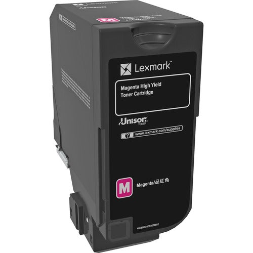Lexmark 12K Magenta Toner Cartridge (CS725) 74C0H30