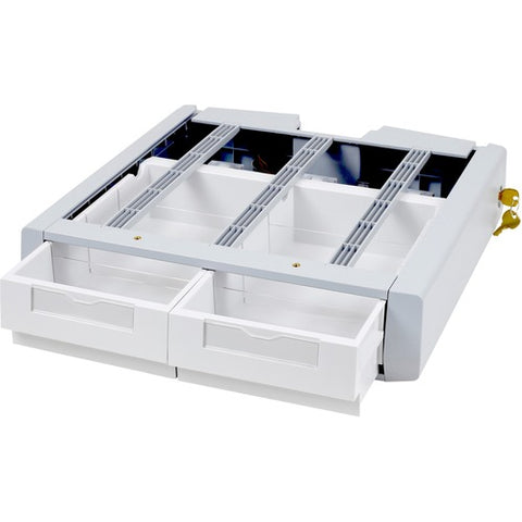 Ergotron SV Supplemental Storage Drawer, Double 97-991