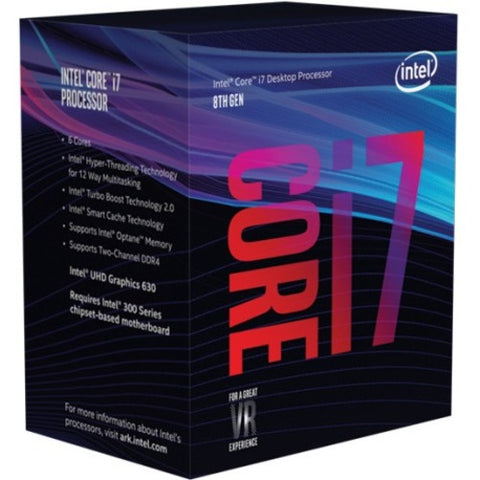 Intel Core i7 Hexa-core i7-8700 3.2GHz Desktop Processor BX80684I78700