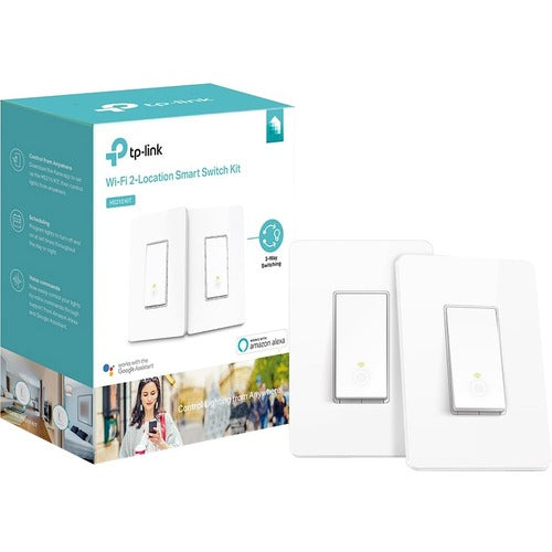 Kasa Smart Wi-Fi Light Switch, 3-Way Kit HS210 KIT