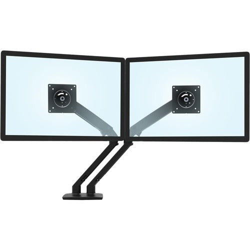 Ergotron MXV Desk Dual Monitor Arm (matte black) 45-496-224