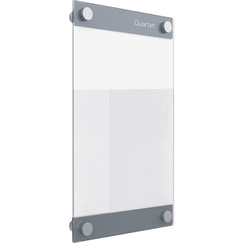 "Quartet Infinity Magnetic Customizable Glass Board, 8.5"" x 11"" 3413899240"