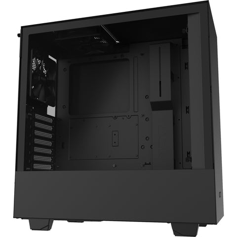 NZXT Compact Mid-Tower Case with Tempered Glass CA-H510B-B1
