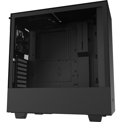 NZXT Compact Mid-Tower with Lighting And Fan Control CA-H510I-B1