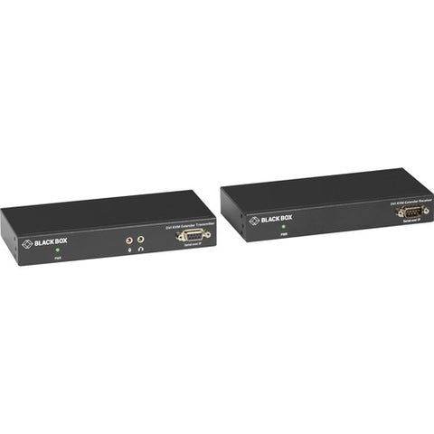 Black Box LC100 Series KVM Extender - DVI, Transmitter and Receiver, CATx KVXLC-100