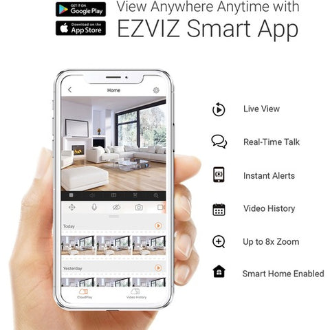 EZVIZ Internet PT Camera EZ2461C2WH