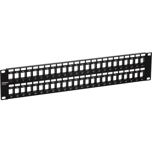 TRENDnet 48-Port Blank Keystone Patch Panel TC-KP48