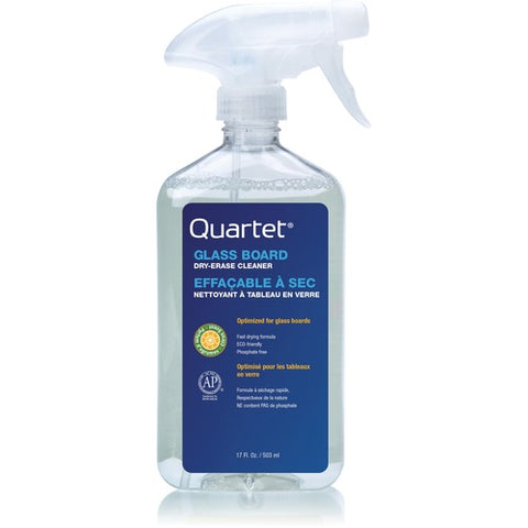 Quartet Glass Board Dry Erase Cleaner Spray 3413826651