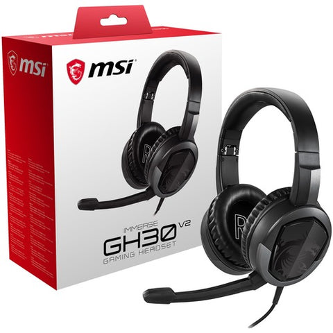 MSI Immerse GH30 Gaming Headset IMMERSE GH30 V2