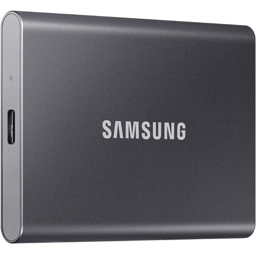 Samsung Portable SSD T7 USB 3.2 1TB (Titan Gray) MU-PC1T0T/AM