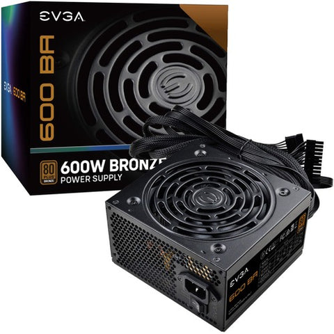 EVGA 600 BA Power Supply 100-BA-0600-K1