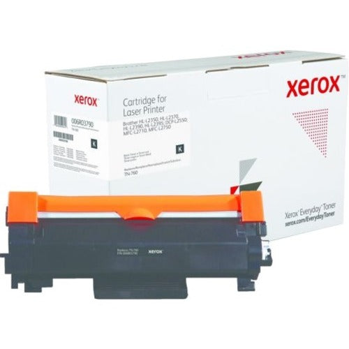 Xerox Black Standard Yield Everyday Toner from Xerox, replacement for Brother TN-760 006R03790