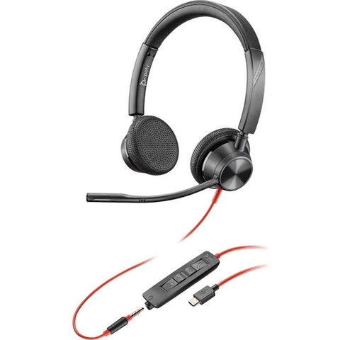 Plantronics Blackwire 3325 Microsoft USB-C Headset 214017-101