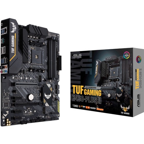 TUF GAMING B450-PLUS II Desktop Motherboard TUF GAMING B450-PLUS II