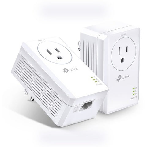 TP-Link AV1000 Gigabit Passthrough Powerline Starter Kit TL-PA7017P KIT