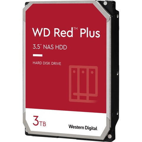 "WD Red Plus NAS Hard Drive 3.5"" WD30EFZX"