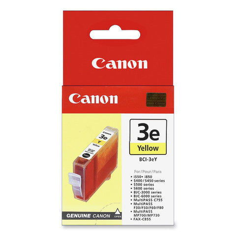 Canon BCI-3eY Ink Cartridge 4482A003
