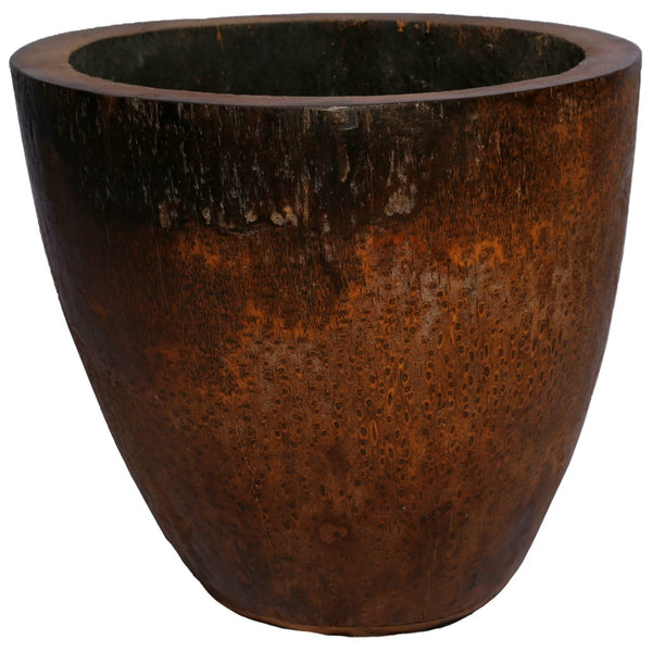Palm Pot Dark Brown 20