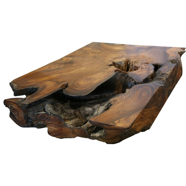 Underwater Acacia Wood Coffee Table