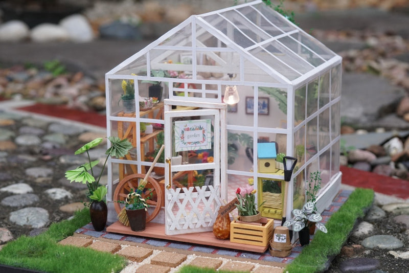 Robotime's DIY Dollhouse can bring you more